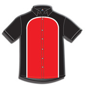 Button Front Performance Shirt-Short Sleeve-070