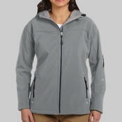 Ladies' Soft Shell Hooded Jacket