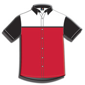 Button Front Performance Shirt-Short Sleeve-030