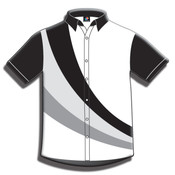 Button Front Performance Shirt-Short Sleeve-050